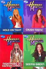 Disney Hannah Montana - Superstar Stories - 4 Book Set Volumes 5 6 7 8 FREE POST