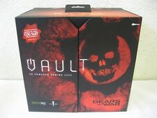 Shipping Case 4x XBOX 360 S - 3D Armored Gaming Case 'Gears of War' Vault - NEW