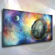 "Fantasy Art ""Inevitable"" CONTEMPORARY Giclee Canvas Print M.Lang Painting Space"