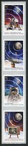 Australia Stamps 2019 MNH Moon Landing Apollo 11 50th Space 4v S/A Coil Strip