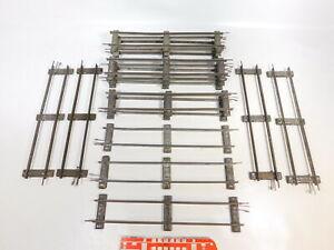 CD533-2 15x Märklin Gauge 1 Track Piece Straight (13 7/8in) For