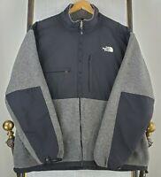 THE NORTH FACE DENALI Size 2XL Mens Gray Polartec 300 Fleece Jacket Coat $179