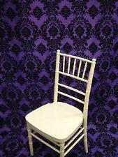 "2 Purple Damask Panel Drapes Curtain 57""x108"" Photography Backdrop Studio Window"