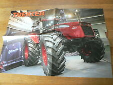A581 VOLVO BM 7664 TRACTOR TREKKER  POSTER AGRI BOER
