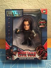 New Metals Die Cast Winter Soldier Avengers figure Mint in Sealed Box