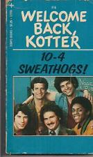 WELCOME BACK KOTTER #4 10-4 SWEATHOGS! ~ TEMPO 12706 1976 JOHNSTON TV TIE-IN