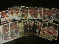 Huge Lot of 32 Steve Yzerman Hockey Cards Red Wings