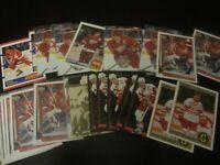 Huge Lot of 32 Steve Yzerman Hockey Cards Red Wings