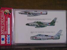 1/72 ESCI Republic F-84F Thunderstreak & RF-84F: USAF, Ger, Italy, Nether. OOP