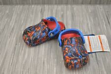 Crocs Kids CrocsFunLab Spiderman Clog, Toddler Boy's Size 4, Red/Blue NEW