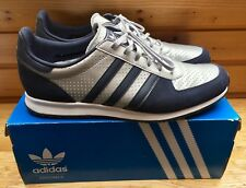 Adidas Adistar Racer Gr. 47 1/3 blau silber OVP *seltene Farbkombination* UK 12