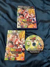DRAGON BALL Z BUDOKAI TENKAICHI 3- PS2 Great Condition