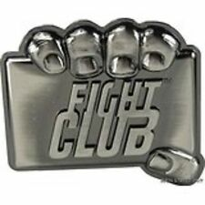 FIGHT CLUB Tyler Durdan Metal PEWTER BELT BUCKLE