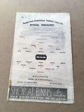 More details for sunderland v middlesbrough 1946/47