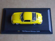 Leo Models CAR DIE CAST 1:43 NEW - ABARTH 750 RECORD MONZA 1958  [MV-13 ]
