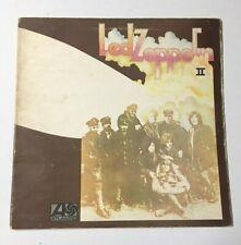 """LED ZEPPELIN II 2 1969 LP 12"""" 33 Giri 588198 A2 B2 Red Plum Lemon Song Atlantic"""