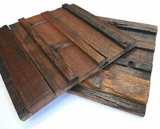 Wood Wall Tiles, Decorative Tiles, Decor For Pub, Cafe, Old Boat Reclaimed Wood