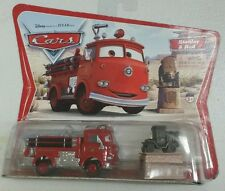 New - STANLEY & RED Pixar Cars ORIGINAL DESERT CARD - Fire Engine Truck MOC Rare