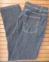 Very Veranesi Ladies Denim Faded Black Jeans Plus Size 18W Slight Stretch