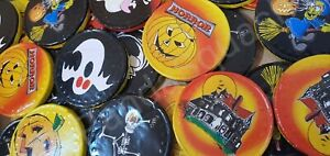 40 Spooky Halloween Milk Chocolate Coins Pumpkin Skull witch Trick or Treat Box