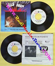 LP 45 7'' ISAAC HAYES MOVEMENT Disco connection St. thomas square no cd mc * dvd