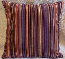 Maharam EPINGLE STRIPE Mahagony Chenille Modern Mid Century Contemporary Pillow