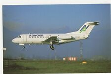 Alinord Fokker F28 Friendship 1000 Aviation Postcard, B008