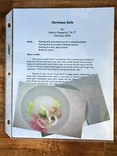 PP9 CHRISTMAS BELLS by Sherry Choquette Decorative Tole Painting Pattern Packet
