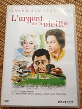 l'argent de la vieille DVD film de luigi comencini avec alberto sordi et mangano