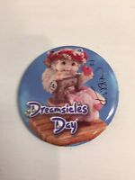 ~DREAMSICLES PIN Signed by Kristina Button Souvenir Badge Button pin