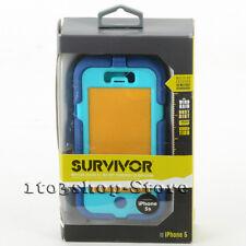 Griffin Survivor Case For iPhone 5 iPhone 5s iPhone SE (Navy/Cornflower Blue)
