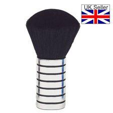 Neck Brush Small Silver / Black Plastic (Metal Look) Stylish & Comfortable