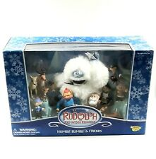 Rudolph the Red-Nosed Reindeer Humble Bumble and Friends Figurines Set Vgc w Box