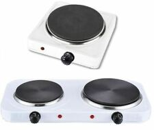 NEW SINGLE/DOUBLE HOTPLATE COOKER ELECTRIC PORTABLE HOB TABLE TOP COOK FRESH