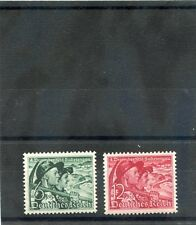 GERMANY Sc B132-3(MI 684y,685)**F-VF NH 1938 SUDETENLAND SET $60