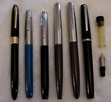 VINTAGE FOUNTAIN PEN ASSORTMENT