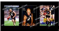 MIL HANNA CARLTON FC GREAT 3 8x6 LARGE PHOTOS
