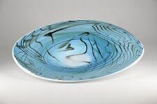XXL, Schale, Glas, Teller, Design, Kunst, Murano, Qualität, Handarbeit, Blau