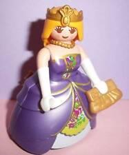 Playmobil Victoriano Muñecas house/palace-Princess Lady, Vestido Morado Y Corona Nueva