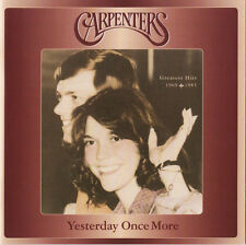 Carpenters YESTERDAY ONCE MORE: GREATEST HITS 1969-83 Best Of 28 Songs NEW 2 CD