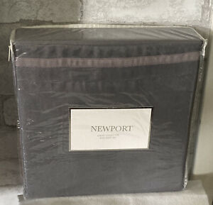 Newport Luxury Collection King Size Sheet Set Gray Colored 4 Pieces BRAND NEW