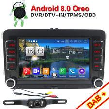AUTORADIO Android 8.0+ Mappe for VW GOLF 5 6 GTI,New Beetle,Passat,Tiguan,Touran