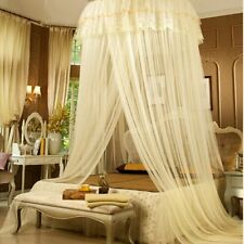 XDOBO Princess Round Lace Amazing Curtain Dome Canopy Netting Mosquito Net/beige