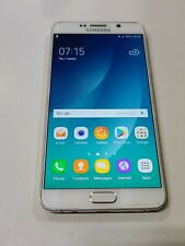 New listing Samsung Galaxy Note5 Sm-N920C,32Gb,White,Unloc ked,Fair Condition,No Pen : Aa098