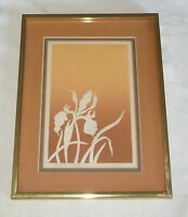 """Framed Signed Limited Edition Print - """"Iris IV""""  by L Lanier"""