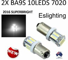 2X DC 12V BA9S LED LIGHT 7020 BAYONET PARK INTERIOR CAR UTE 4WD GLOBE T4W 1895