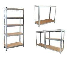 Librerías y estanterías para lavadero de acero para el hogar