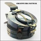 Handmade Antique Surveying Engineering MK11 Maritime Brass Pocket Compass GIFT