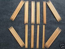 "shipping from USA 5""  Bamboo Knitting Needle Double point 9 Size 45 needles!!"