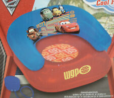 Disney Pixar Cars 2 Inflatable Chair With Pump Cozy, Comfy Max Weight 153 LBS